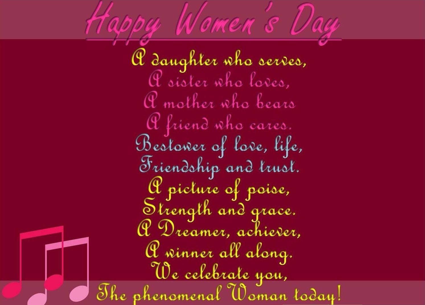 Women Day Greeting Cards Tripura Tourism Places